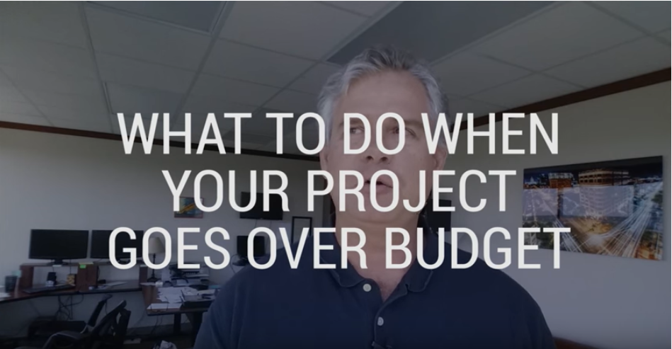 What to Do when Your Project Goes Over Budget