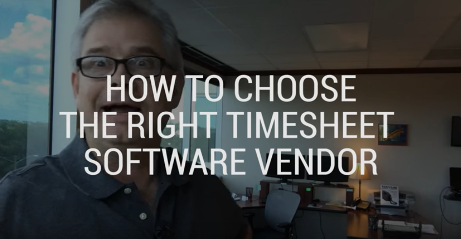 How to Choose the Right Timesheet Software Vendor