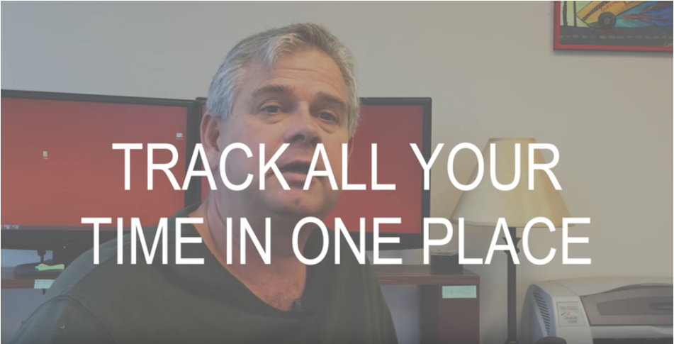 Why Track All Your Time in One Place?