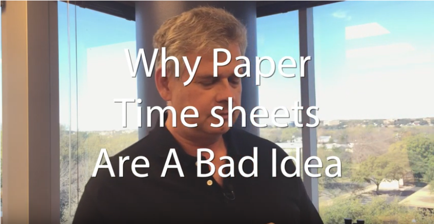 4 Disadvantages of Paper Timesheets
