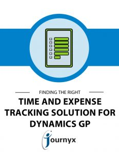 CL - finding the right time and expense tracking solution for GP 2017