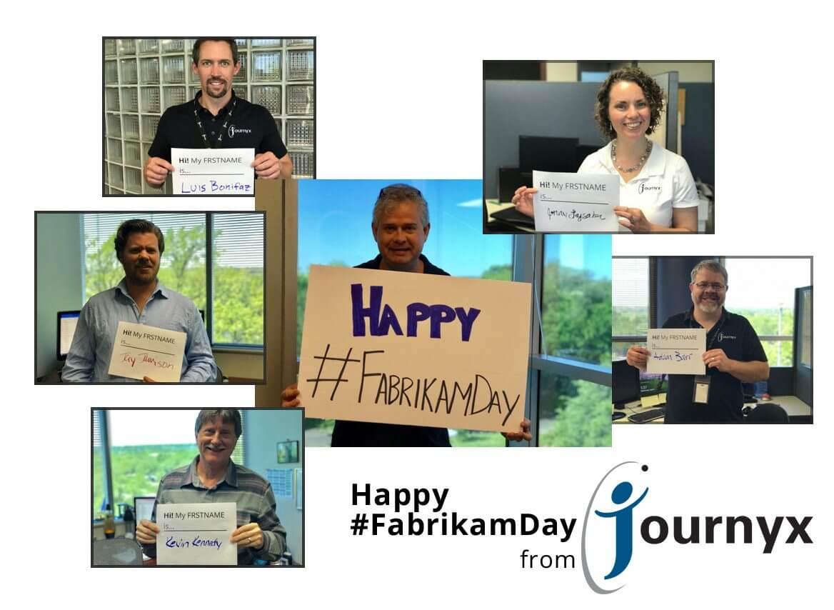Hey, Hey, GP Users! It's Fabrikam Day!