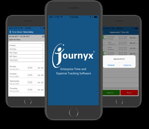 journyx app on iphone