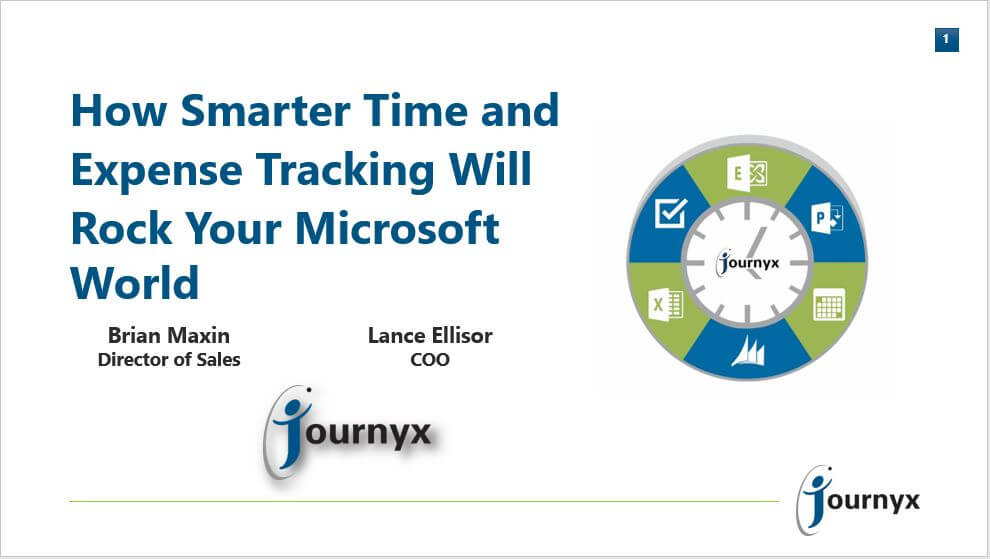 Smart Time and Expense Tracking that Rocks Your Microsoft World