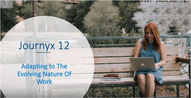 Journyx 12 Changing The Way We Work graphic