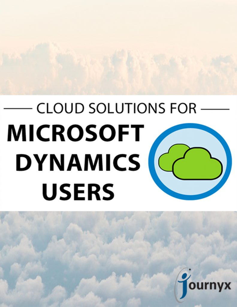 Cloud Solutions for Microsoft Dynamics Users