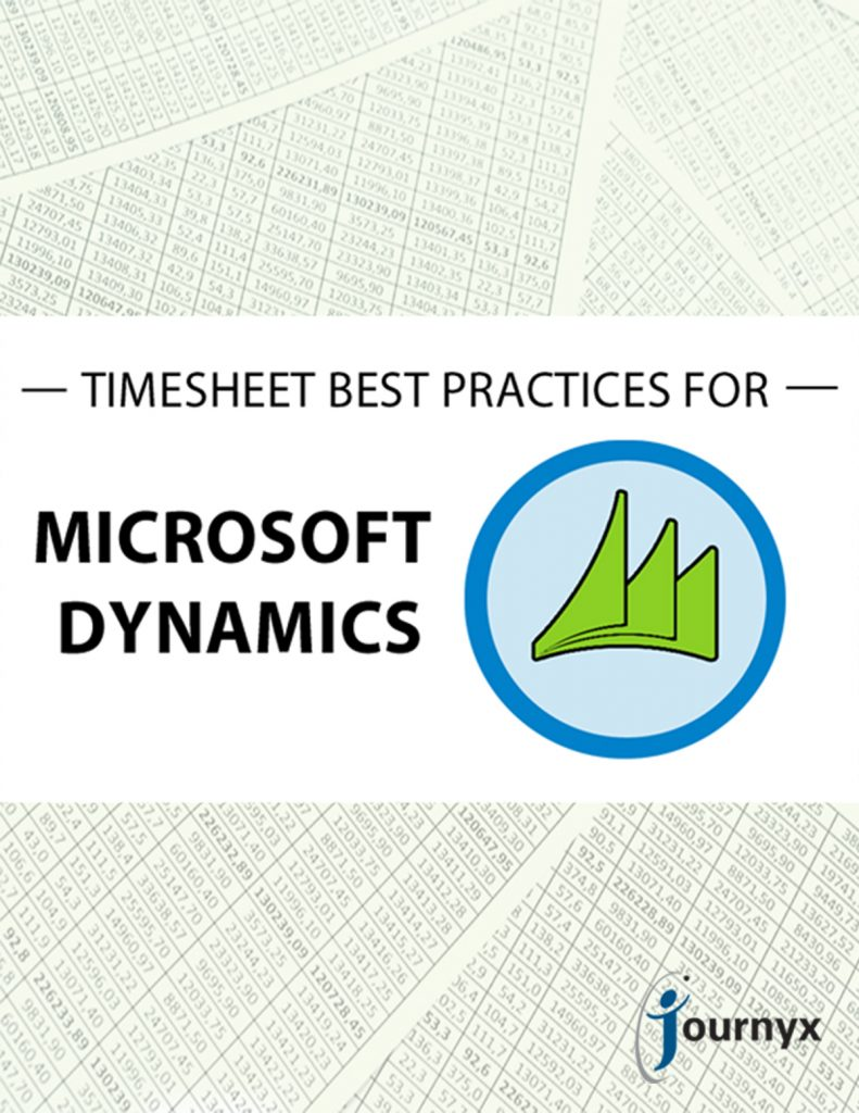 Timesheet Best Practices for Microsoft Dynamics