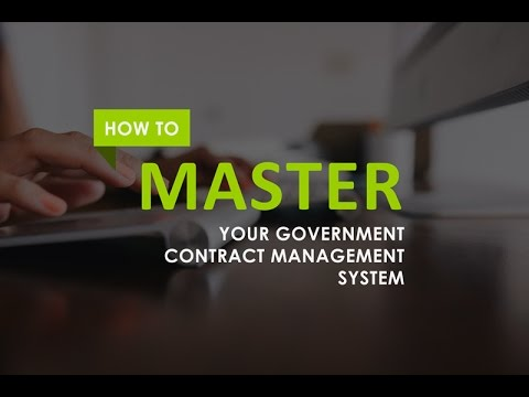 how to master your government contract management system graphic