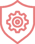 shield and gear