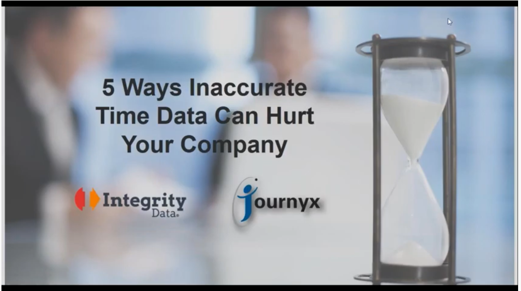 5 ways inaccurate time data can hurt your company graphic