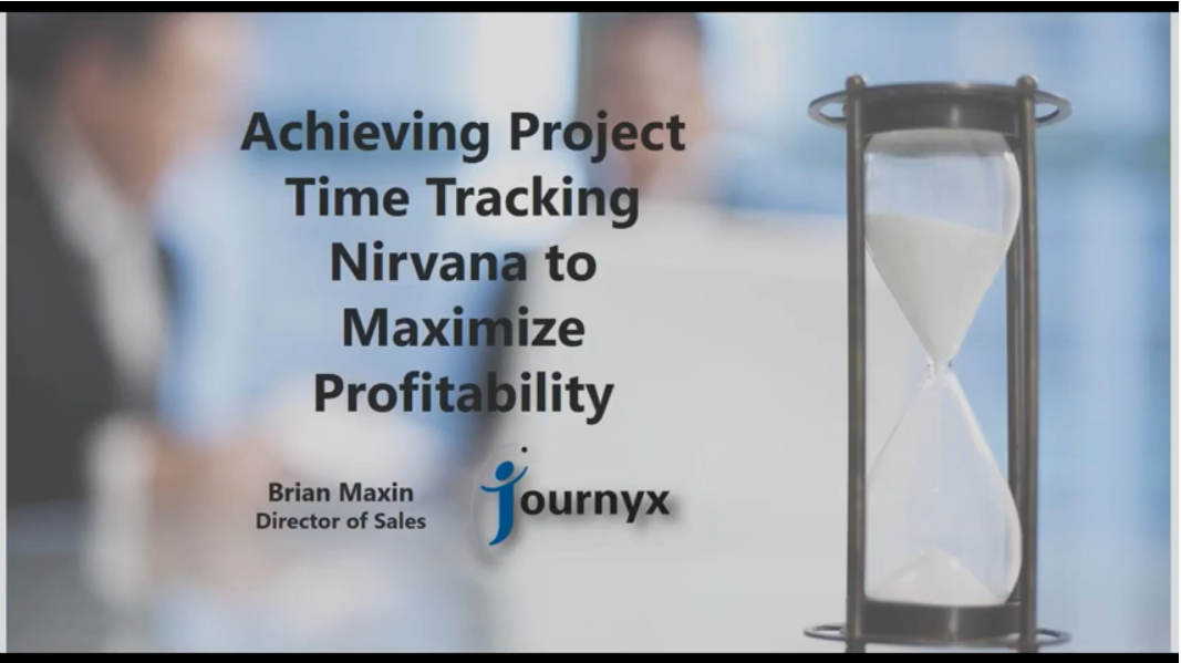 Achieving Time Tracking Nirvana to maximize profitability graphic