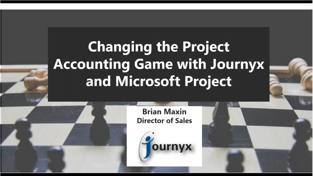 Changing the Project Accounting Game with Journyx graphic