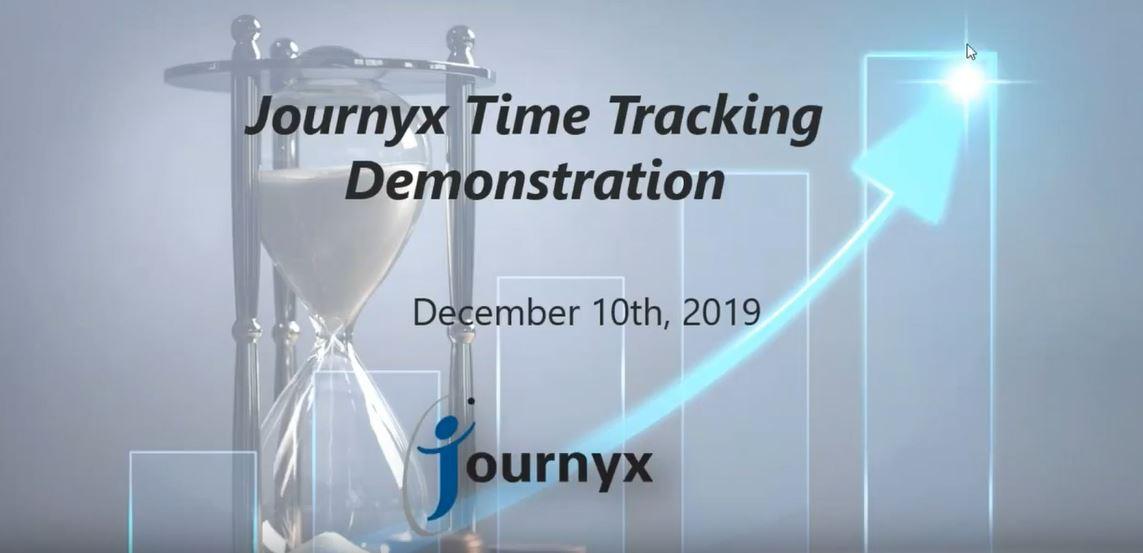 Journyx Demo