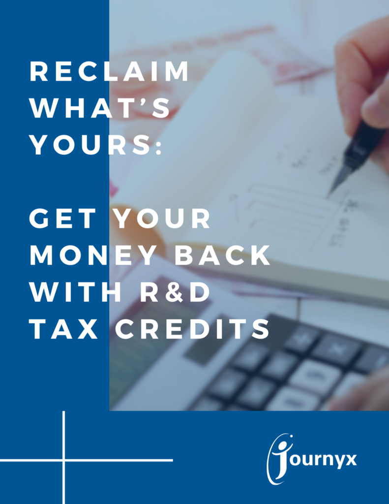 Get Your Money Back with R&D Tax Credits