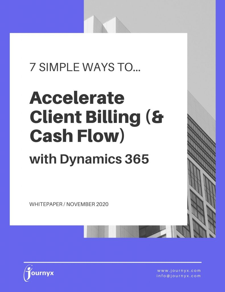 7 Ways to Accelerate Client Billing with Dynamics 365