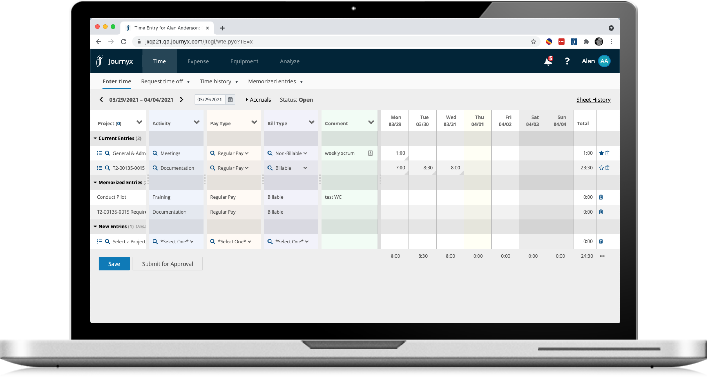 project time tracking software